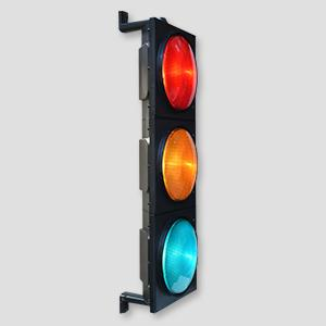 D300mm Newest PC Housing 3 Aspects Traffic Signals