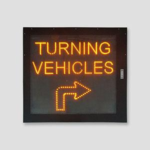 Customized Roadway Highway Used 36inches Led Arrow Traffic Directional Signs