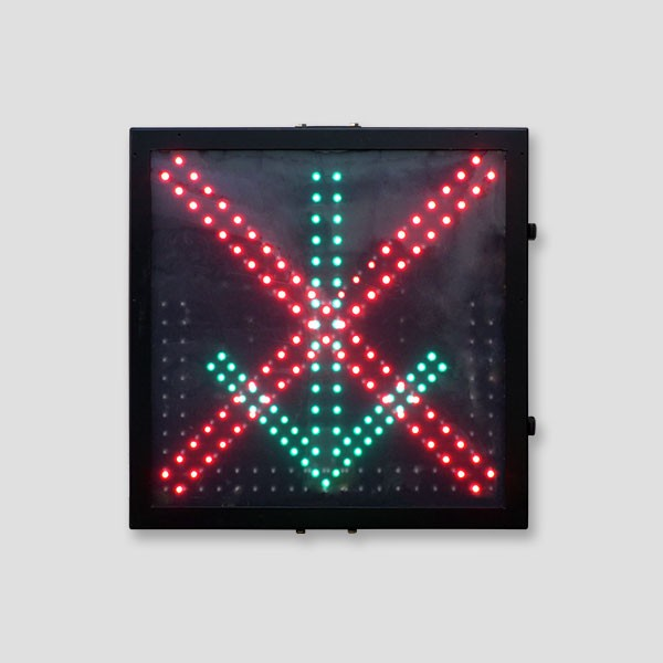 600mm LED Toll station light Red Cross Green Arrow Signals