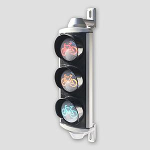 Aluminum Bicycle Traffic Signal Head