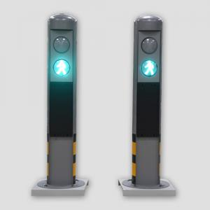 Audible Pedestrian Bollards System