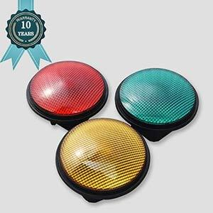 EN12368 Certified 200mm LED Traffic Signal Modules With 10 Year Warranty
