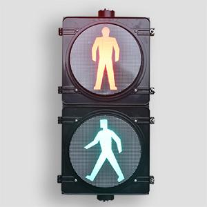 300mm Hi Flux LED Pedestrian Traffic Light