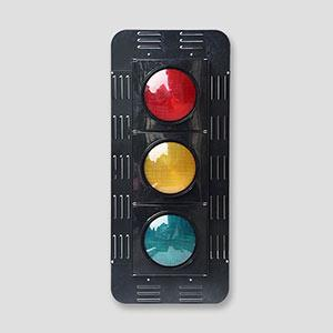 200mm Hi-Power 2 Aspects Back Board Led Traffic Aspect