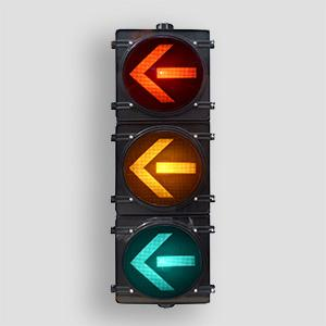 300 Hi Flux Led Traffic Signal Light