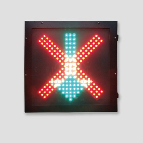Over Head Lane Control Signals For Parking Lot Traffic Light