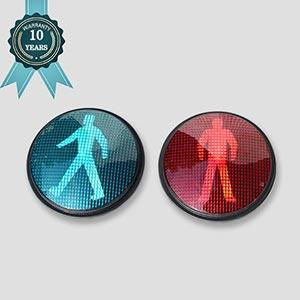 Sunburst  Pedestrian LED Traffic Signal Light