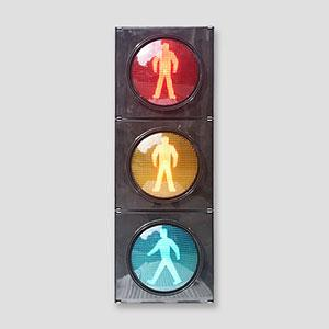 IP65 Phantom 5 High Flux Pedestrian Traffic Light