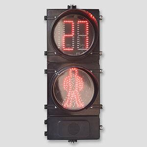300mm Acoustic Pedetrian Signal Lights With Countdown Timer