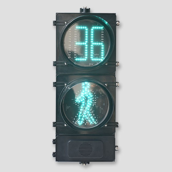 300mm Animated and Countdown Pedestrian Signal light