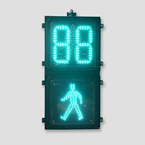 12*12  Pixel Look Pedestrian Traffic Light With Countdown Timer