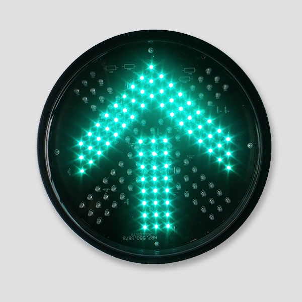 300mm Red Cross And Green Arrow Traffic Signal Light