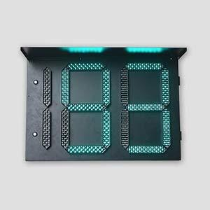 Three Digital Three Color Countdown Timer Traffic Light