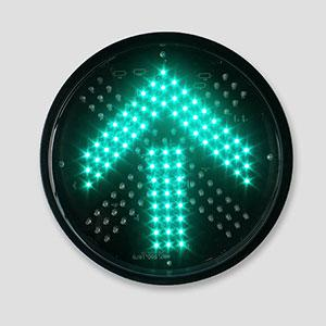 300mm Red Fork Green Arrow Lights Traffic Lane Signal Light