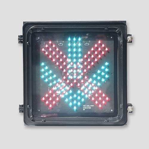 12*12 Inch Red cross Green Arrow Traffic Light
