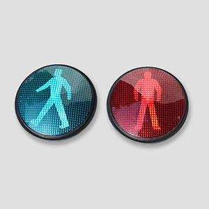 Long-Lasting Performance Pedestrian LED Traffic Signals